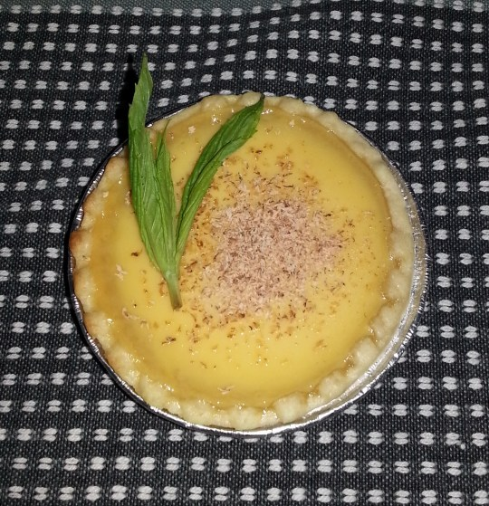 Cheats Custard Tart Dessert