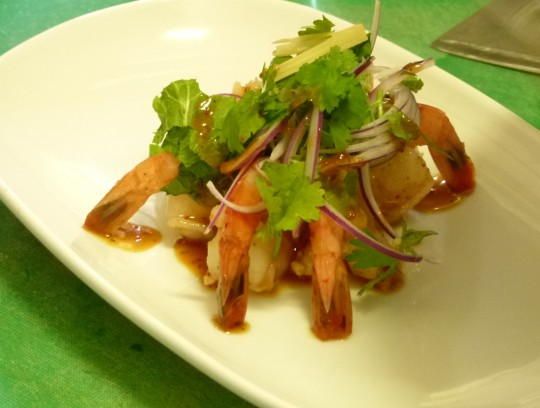 MissFoodFairy's Thai cooking class - Chaloem's Thai prawn salad