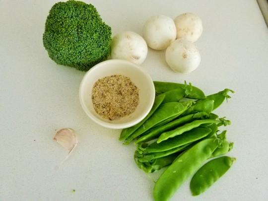 MissFoodFairy's prep for Sichuan pepper-salt stirfry chicken2