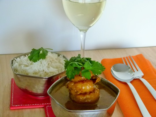 MissFoodFairy's Prawn coconut curry