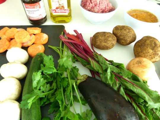 MissFoodFairy's Cottage pie ingredients