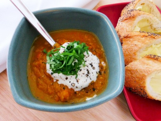 MissFoodFairy's Roasted vegetable chunky soup