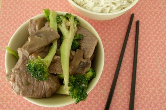 MissFoodFairy's beef & broccoli stirfry #2