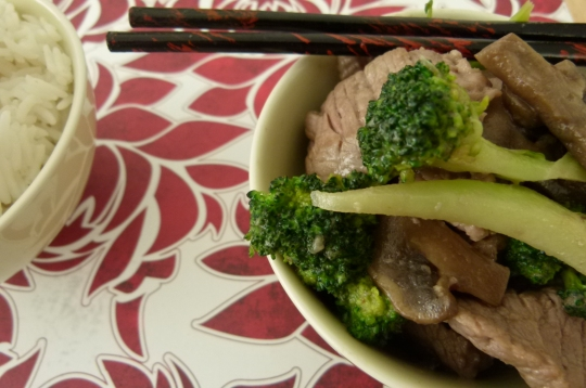 MissFoodFairy's beef & broccoli stirfry #4