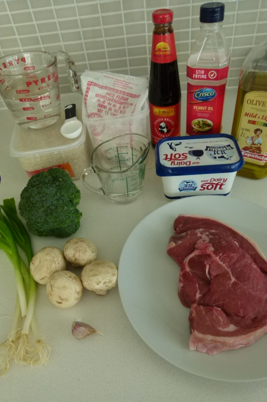 MissFoodFairy's beef&broccoli stirfry