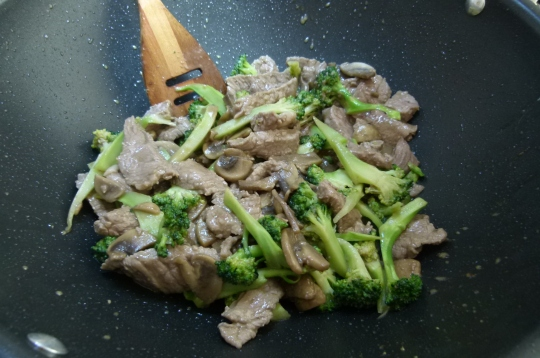 MissFoodFairy's completed beef&broccoli stirfry