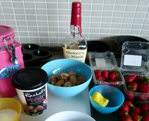 MissFoodFairy's frozen yogurt cheesecake ingredients CORRECT PIC
