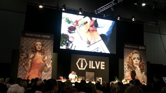 MissFoodFairy's Jacques Reymond Masterclass on big screen