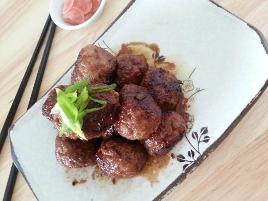 MissFoodFairy's Japanese-inspired meatballs