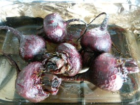 MissFoodFairy's roasted beetroot