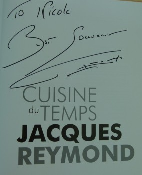 MissFoodFairy's Signed copy of Cusines du Temps