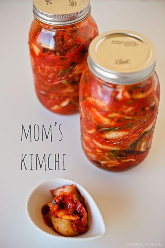 Mom's Kimchi EstherandJacob.com