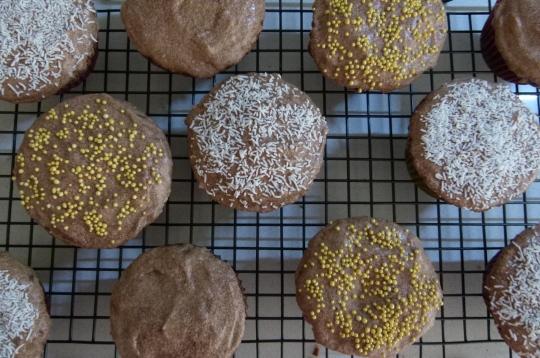 MissFoodFairy's chocolate cupcakes