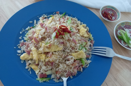 MissFoodFairy's fried rice Kylie style #3