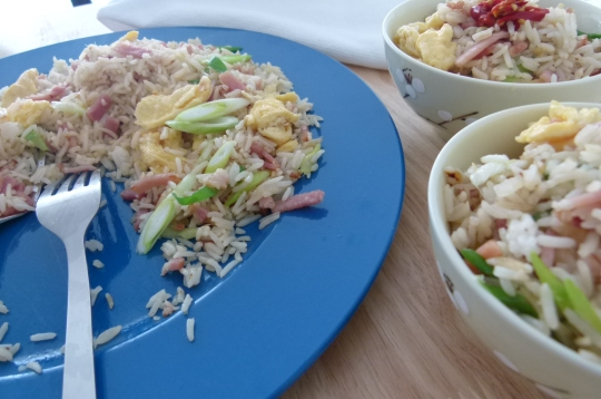 MissFoodFairy's fried rice Kylie style #5