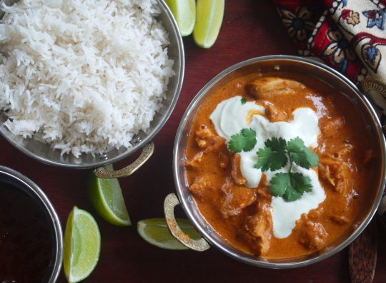 Julie Goodwin's butter-chicken