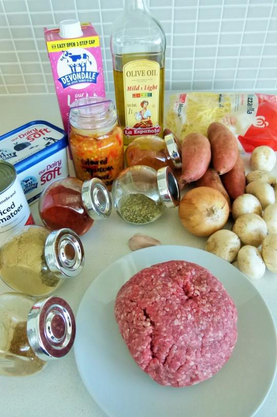 MissFoodFairy's beef pot pies ingredients