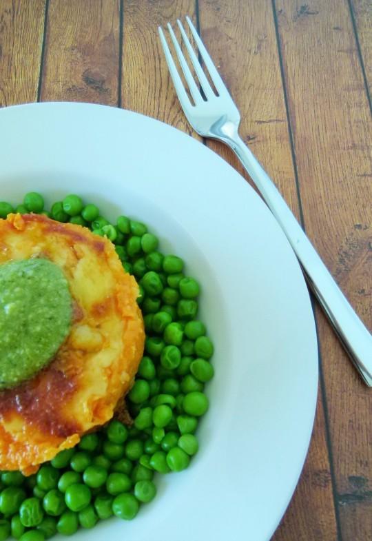 MissFoodFairy's beef pot pies with peas & pesto 2