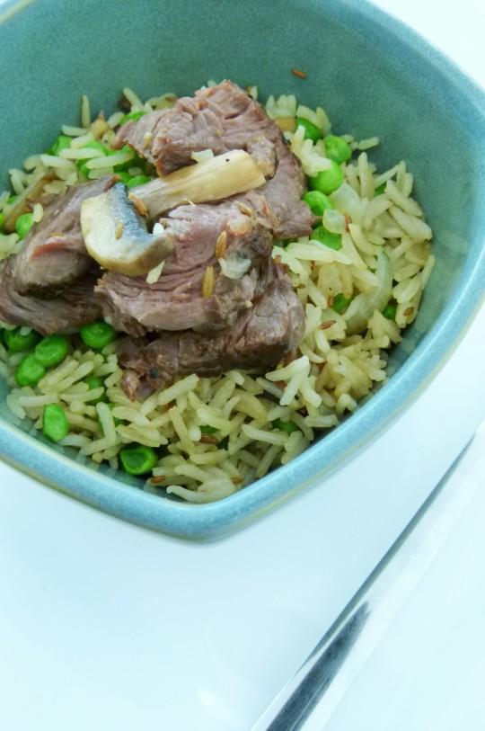 MissFoodFairy's mushroom pilaf rice #3