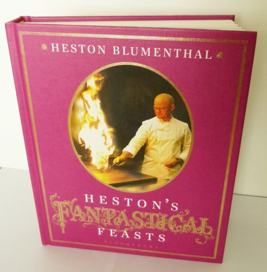 MissFoodFairy's new Heston Blumenthal cookbook