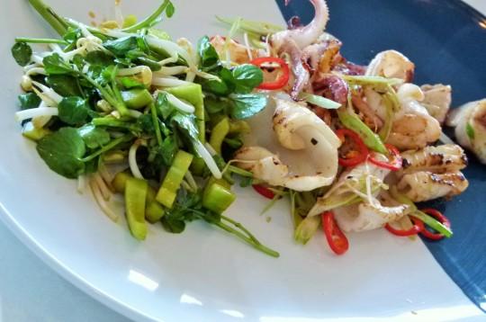 MissFoodFairy's Masterclass with Rick Stein Sichuan salt&pepper squid