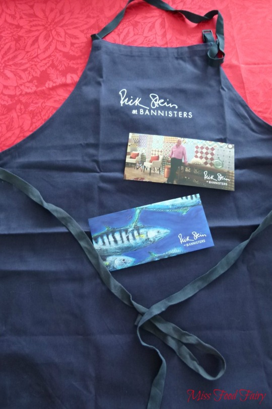 MissFoodFairy's Rick Stein's Bannisters apron