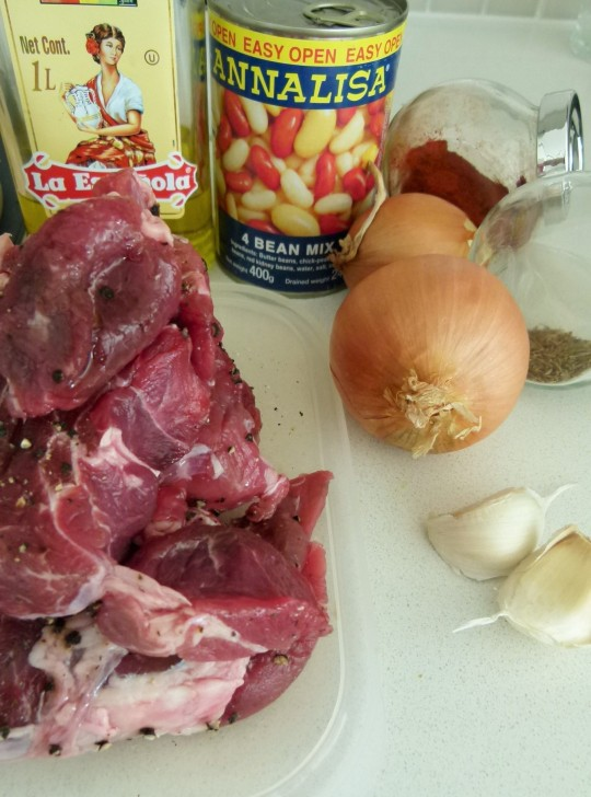 MissFoodFairy's ingredients for meat in taco-cups
