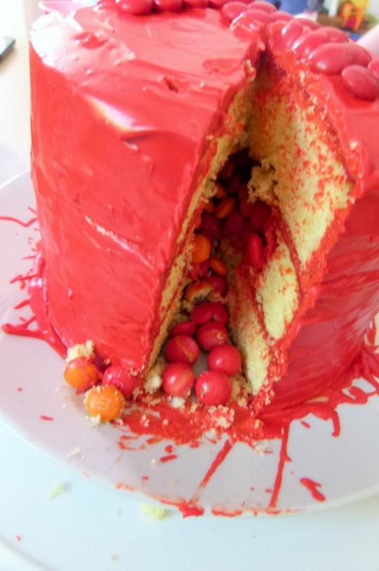 MissFoodFairy's nephews birthday cake