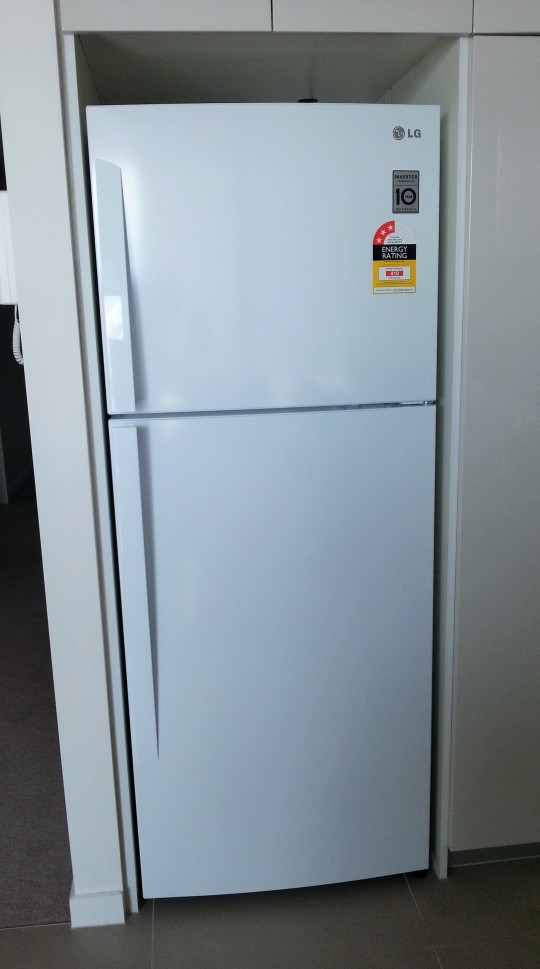 MissFoodFairys new fridge