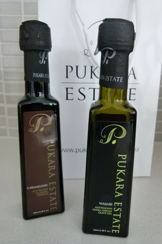 MissFoodFairy's Pukara Estate oil & vinegar