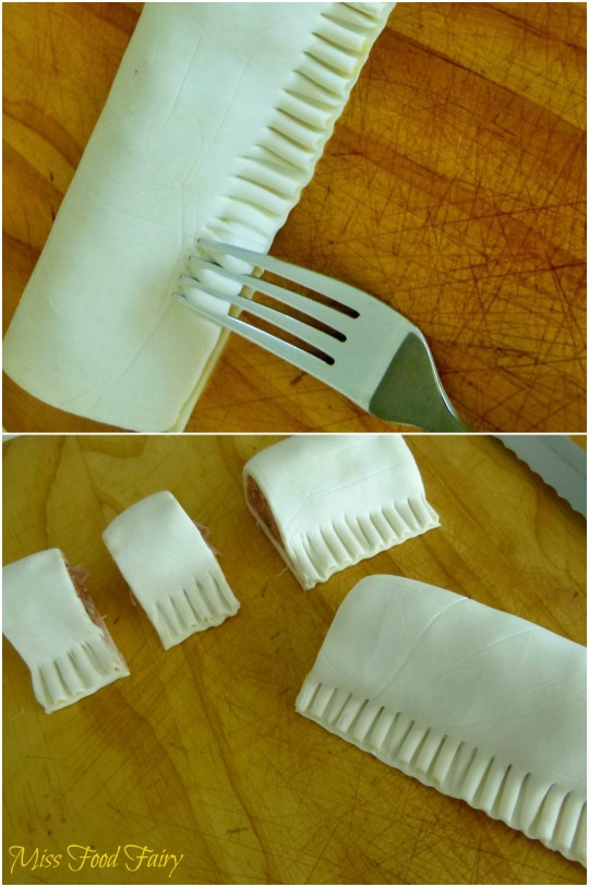 a.MissFoodFairy's fork seal & cutting