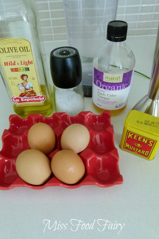 a.MissFoodFairy's whole egg mayo ingredients