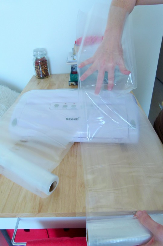 MissFoodFairy's see-through vacuum bags