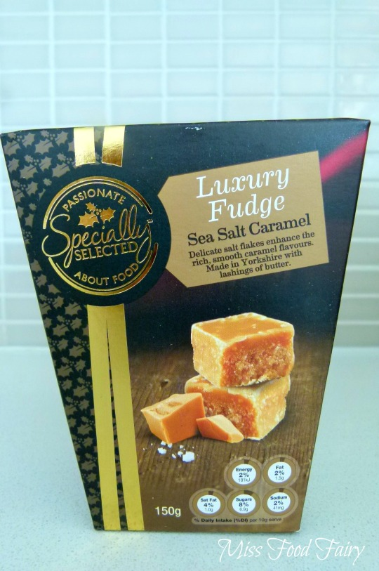 a.MissFoodFairy's Aldi salted caramel fudge