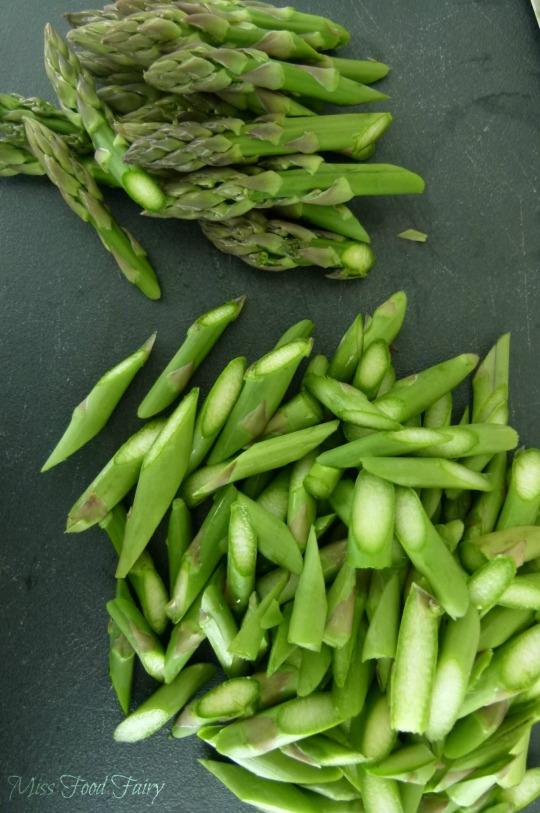 a.MissFoodFairy's chopped asparagus
