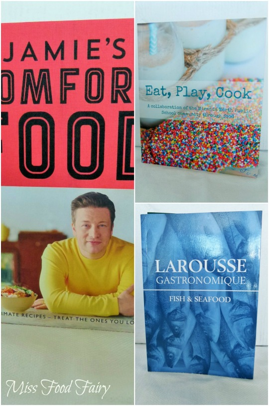 a.MissFoodFairy's Chrissy cookbooks
