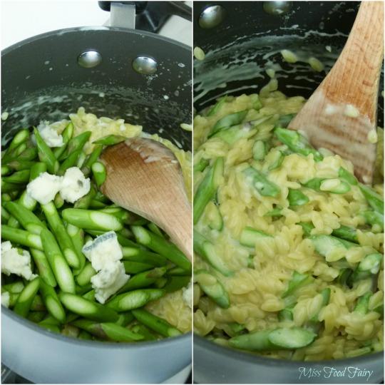 a.MissFoodFairy'sadding asparagus&Gorgonzola