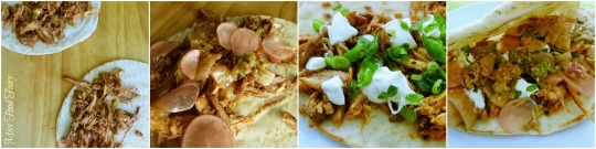 a. MissFoodFairy's Asian pulled chicken tacos to serve #1