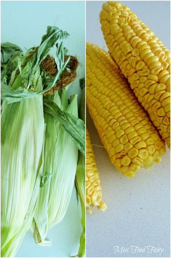 a.MissFoodFairy's corn on the cob