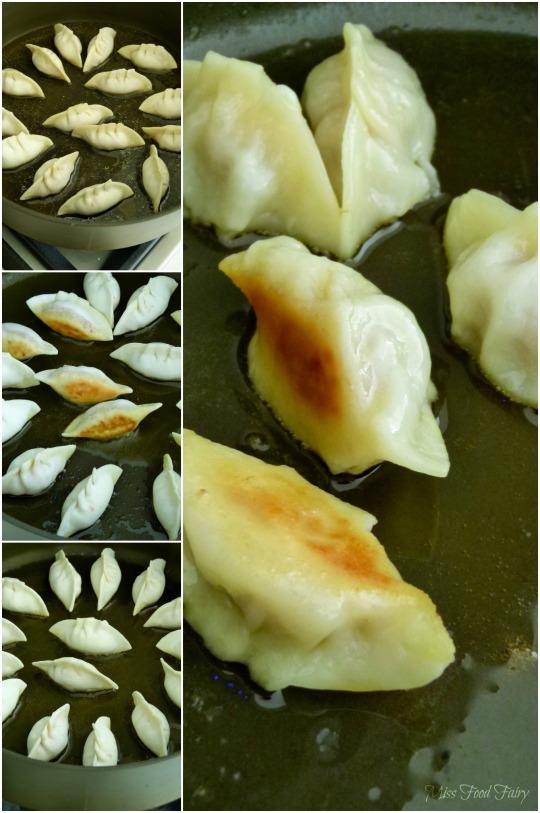 a.Miss Food Fairy's panfrying pork & prawn dumplings