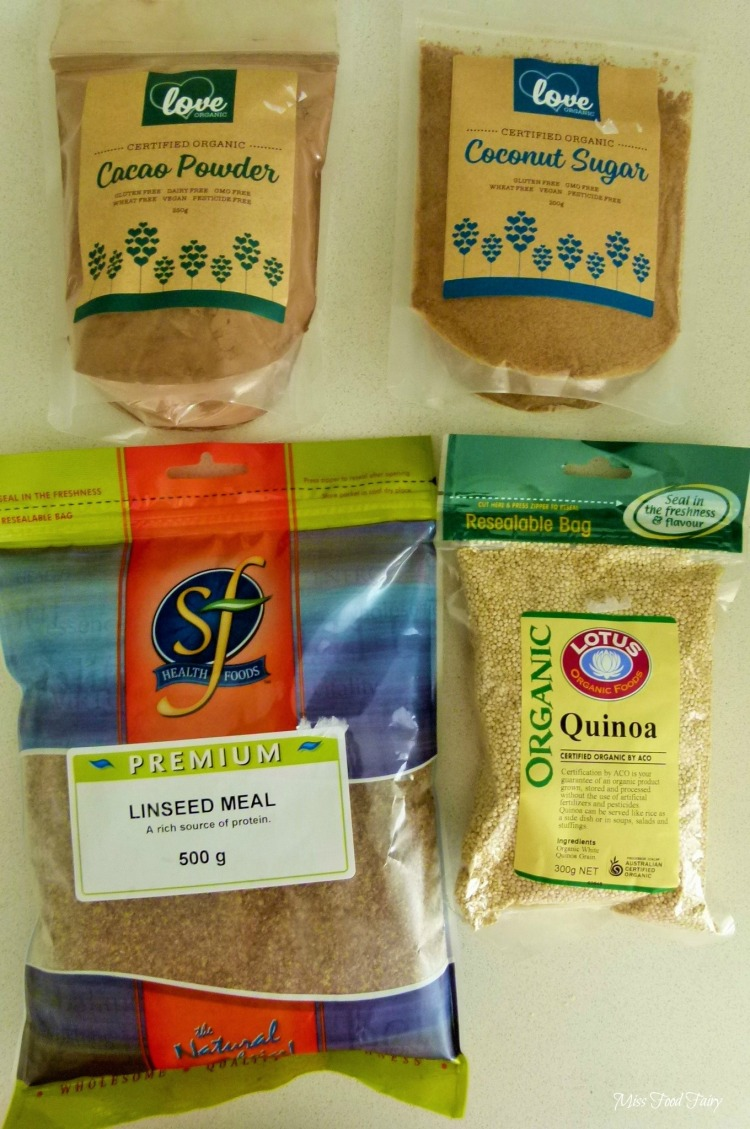 a.MissFoodFairys health food purchases