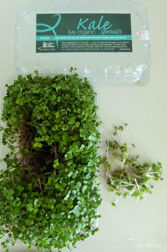 a.MissFoodFairys kale micro-herbs
