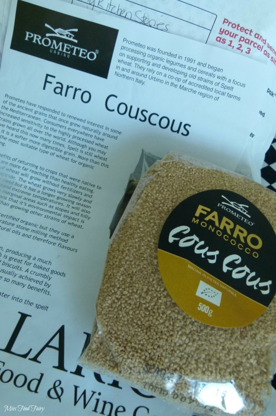 a.MissFoodFairys organic couscous from MyKitchenStories