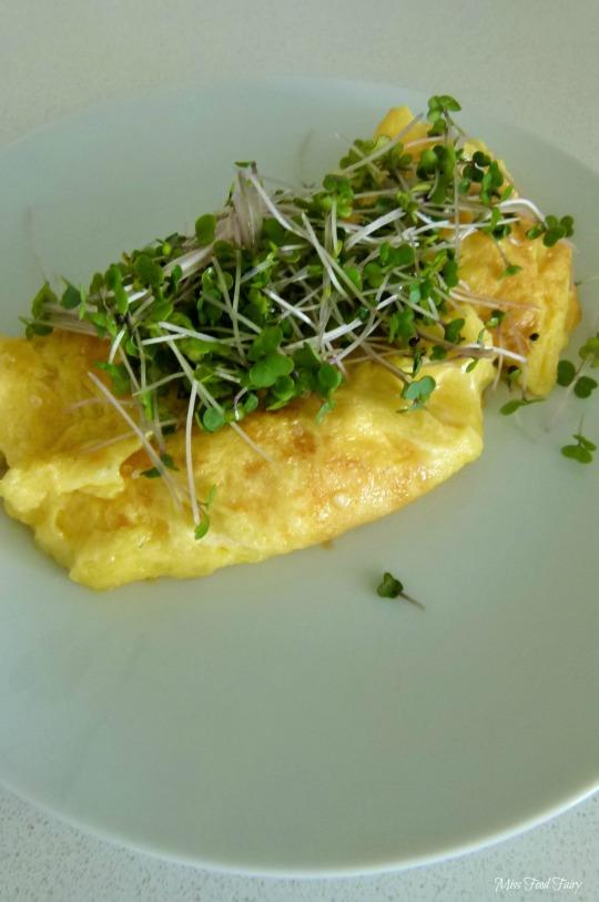 a.MissFoodFairys wasabi cheese omelette