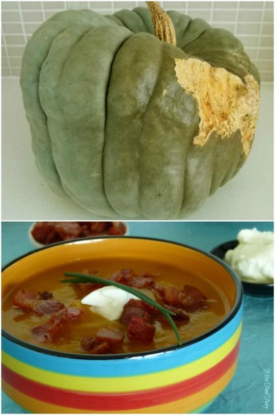 Jarrahdale pumpkin & soup #IMK @MissFoodFairy