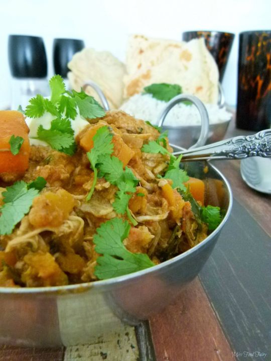 @MissFoodFairy Pumpkin roast chicken curry #1
