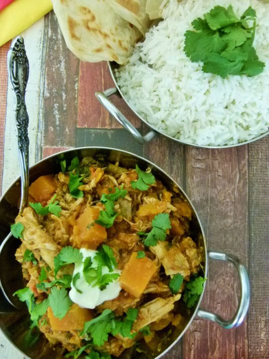 Leftover roast chicken with pumpkin curry #4 @MissFoodFairy