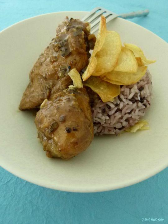 @MissFoodFairy 1st attempt ChickenAdobo