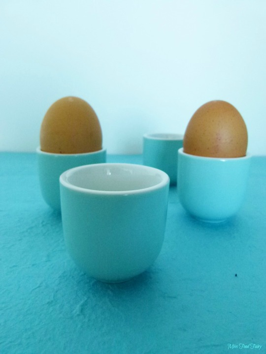 I love soft boiled eggs but I didn't have any egg cups! Target had these beautiful blue egg cups for $5 - may have to go back for more. Do you like soft boiled eggs?