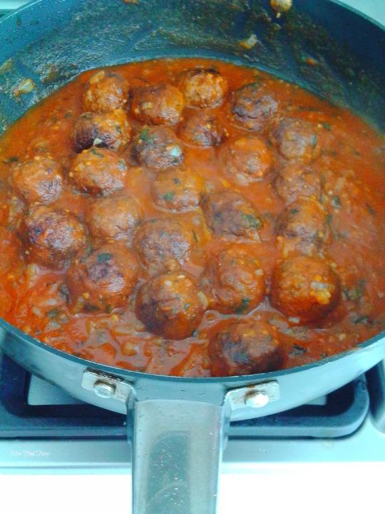 @MissFoodFairy Meatballs - for meatball subs #3